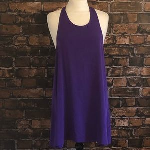 Alice + Olivia Purple Dress